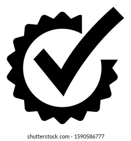 checkbox icon isolated sign symbol vector illustration - high quality black style vector icons