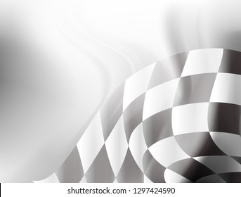 checkered flag racing background