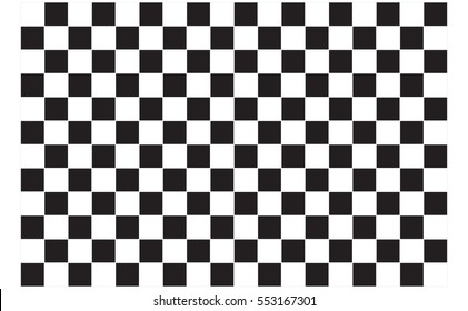 Checkered flag. Racing flag isolated on white.