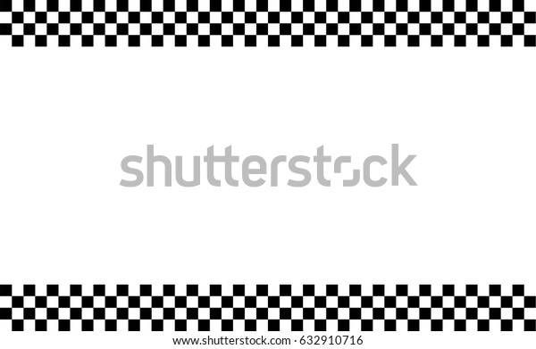 Checkered Flag Racing Flag Isolated On Stock Vector Royalty Free 632910716