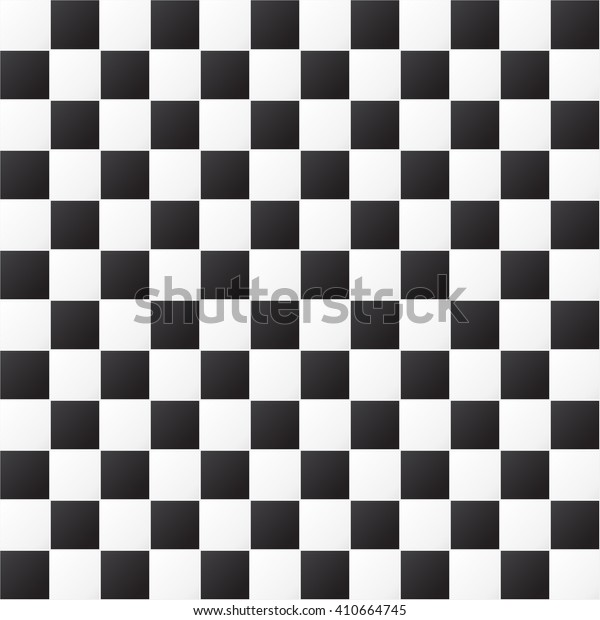 Checkered pattern. Seamless pattern. Black and white background. Vector illustration EPS 10