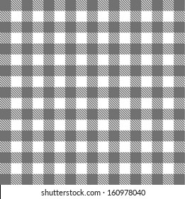 checkered picnic tablecloth background vector