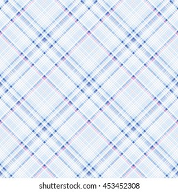 Checkered Seamless Pattern Of Interwoven Colored Thin Strips. Motley  Abstract Symmetrical Background. Tartan Template
