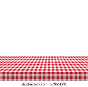 Checkered tablecloths pattern Vector EPS 10 illustration.
