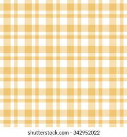 checkered yellow seamless tablecloth pattern