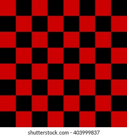 checkers seamless pattern. black and red checkers board.