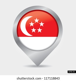 Check-in singapore flag