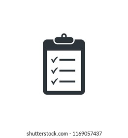 checklist checkboard icon vector