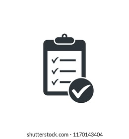 checklist clipboard icon checkmark icon