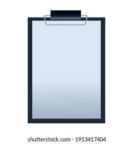 checklist clipboard mockup branding element icon vector illustration design