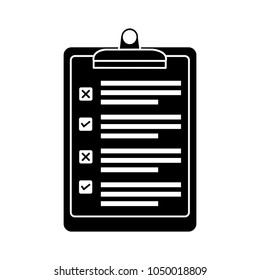 checklist icon, check list vector questionnaire clipboard - survey document form