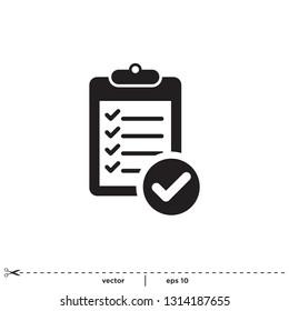 checklist icon symbol