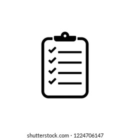 checklist icon vector, icons eps10, 10 eps