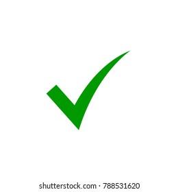 checkmark icon vector