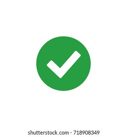 checkmark icon vector isolated