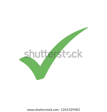 checkmark icon vector on