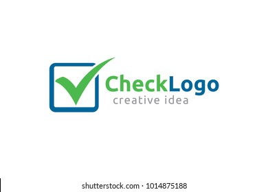 Checkmark Logo and Icon Template