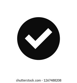 Checkmark rounded icon