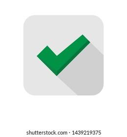 Checkmark tick, ok check vector icon