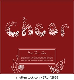 Cheer Greeting Card