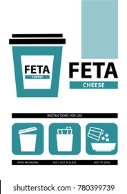 cheese feta icons