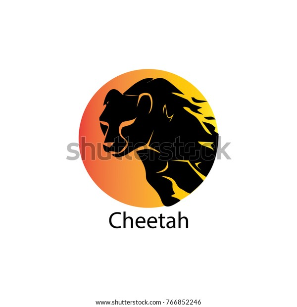 cheetah logo vector template design stock vector royalty free 766852246 https www shutterstock com image vector cheetah logo vector template design 766852246