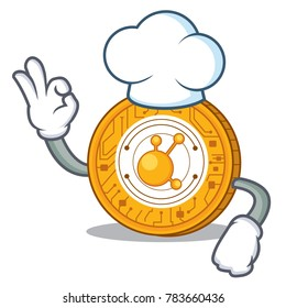 Chef BitConnect coin character cartoon