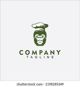 Chef Gorilla logo for ur company