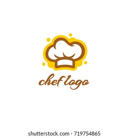 Chef Hat Logo Template - Bakery Logo Vector