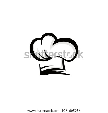 095e3467d19 Chef Hat Logo Vector Abstract Template Stock Vector (Royalty Free ...