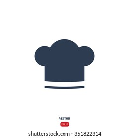 Chef hat sign icon