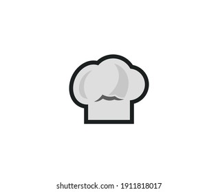 Chef logo cooking vector kitchen icon