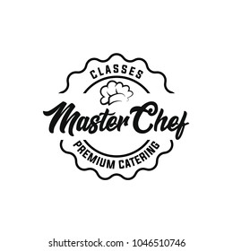 Chef logo template. Restaurant, Bakery Logo, logo template white background