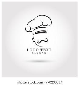Chef Symbol & Icon Logo Vector Template