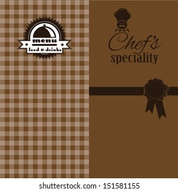Chef's Specials Menu Design