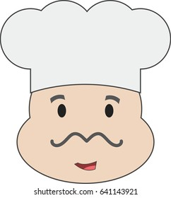Chef's vector face