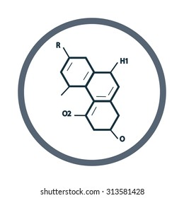 Chemical combination icon
