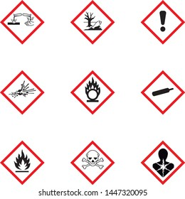 chemical, symbol, hazard, danger, pictogram