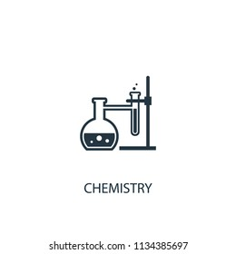 chemistry creative icon. Simple element illustration. chemistry concept symbol design from Science collection. Can be used for web and mobile.