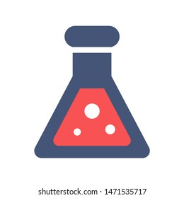 chemistry icon. flat illustration of chemistry - vector icon. chemistry sign symbol