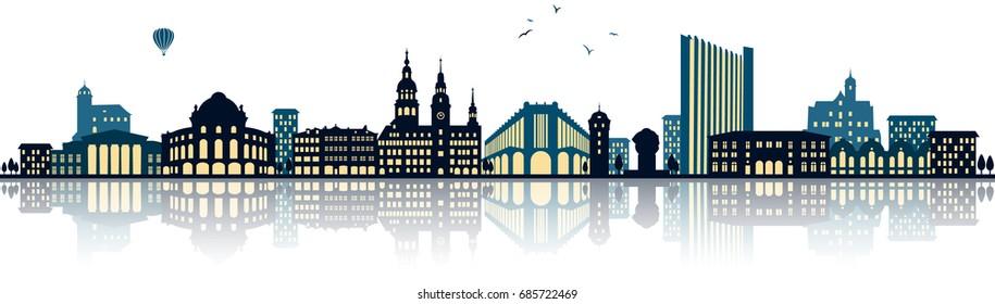 Chemnitz Skyline (germany)