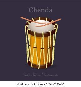 Chenda- Indian musical instrument