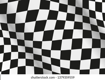 Chequered Flag background vector