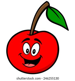 Cherry Cartoon Mascot