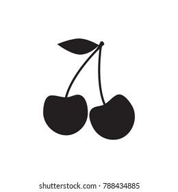 cherry icon. cherry sign