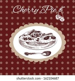 Cherry pie vintage style