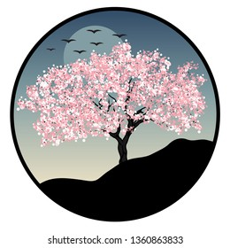 Cherry Blossom Tree Logo High Res Stock Images Shutterstock