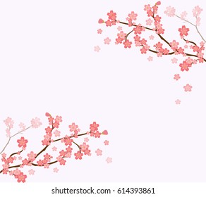 фотообои cherry tree branch