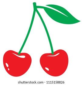 cherry vector illustration