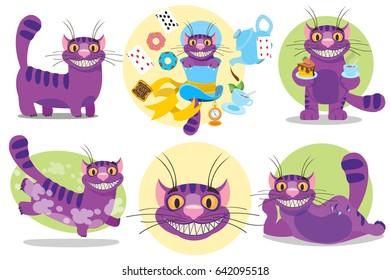 Cheshire cat. Separate